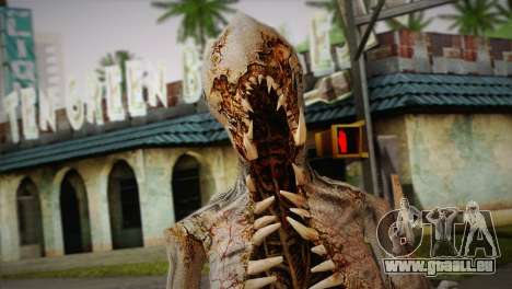 Monster aus dem Spiel Dead Spase 3 für GTA San Andreas dritten Screenshot