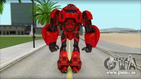 Cliffjumper für GTA San Andreas zweiten Screenshot