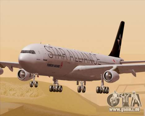 Airbus A340-311 Turkish Airlines (Star Alliance) pour GTA San Andreas