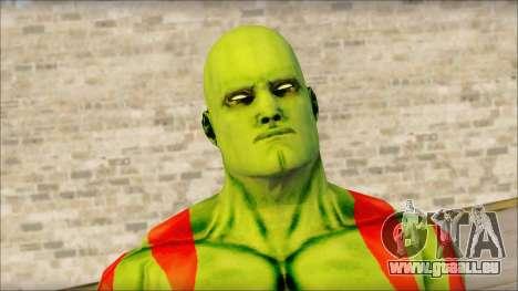 Guardians of the Galaxy Drax pour GTA San Andreas troisième écran
