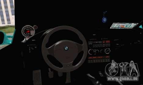BMW 3-series Cabrio für GTA San Andreas zurück linke Ansicht