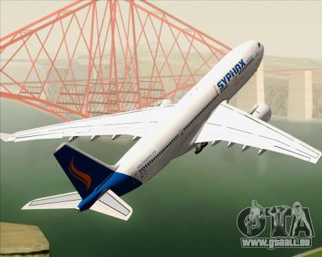 Airbus A330-200 Syphax Airlines pour GTA San Andreas moteur