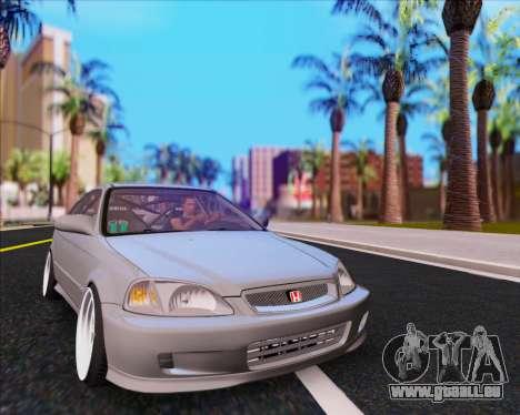 Honda Civic EM1 V2 für GTA San Andreas