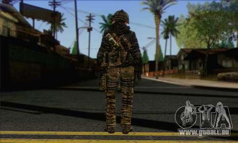 Task Force 141 (CoD: MW 2) Skin 8 pour GTA San Andreas deuxième écran