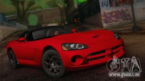 Dodge Viper SRT-10 2003 pour GTA San Andreas