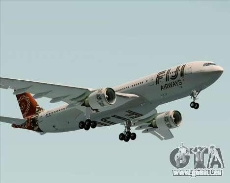 Airbus A330-200 Fiji Airways für GTA San Andreas Innenansicht