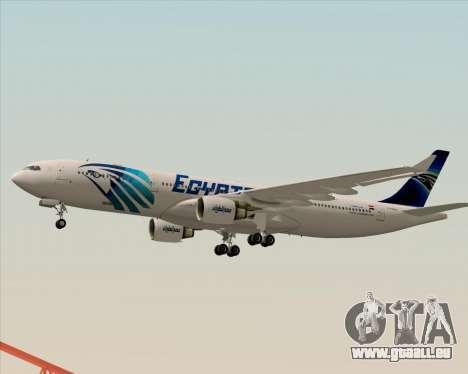 Airbus A330-300 EgyptAir für GTA San Andreas Seitenansicht