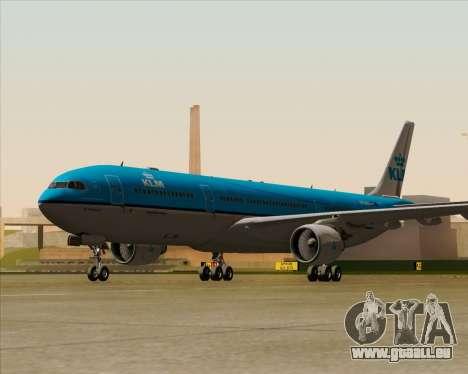 Airbus A330-300 KLM Royal Dutch Airlines pour GTA San Andreas vue de droite