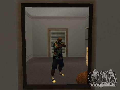 Hawaiian shirt wie max Payne für GTA San Andreas zweiten Screenshot