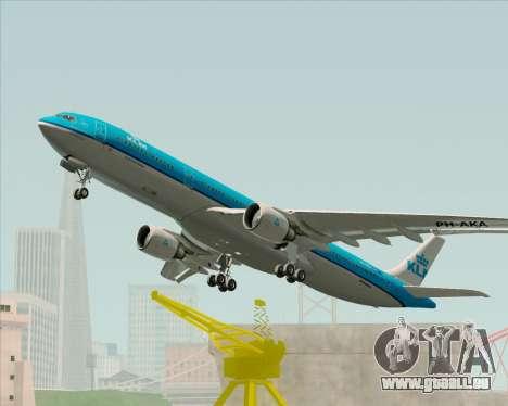 Airbus A330-300 KLM Royal Dutch Airlines für GTA San Andreas Seitenansicht