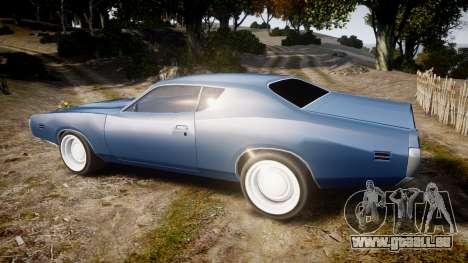 Dodge Charger 1971 v2.0 pour GTA 4 est une gauche