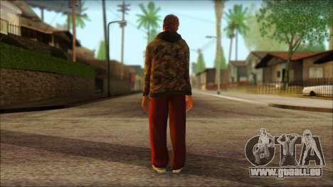 GTA 5 Ped 9 pour GTA San Andreas deuxième écran
