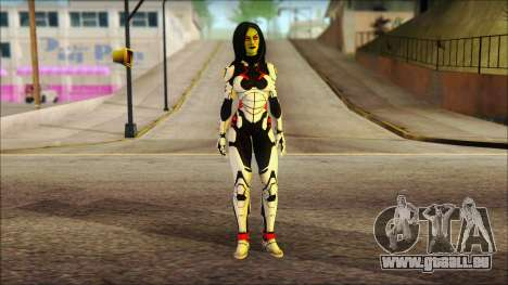 Guardians of the Galaxy Gamora v2 pour GTA San Andreas