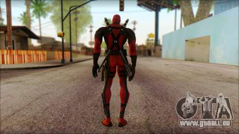 Classic Deadpool The Game Cable für GTA San Andreas zweiten Screenshot