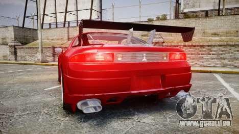 Mitsubishi 3000GT Tuner für GTA 4 hinten links Ansicht