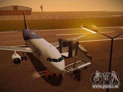 Airbus A320-214 LAN Airlines 100th Plane für GTA San Andreas
