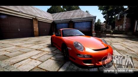 Porsche 911 GT3 RS pour GTA 4 est une vue de l'intérieur