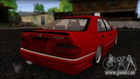 Mercedes-Benz W210 E55 für GTA San Andreas linke Ansicht