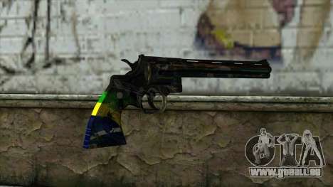 Colt Python from PointBlank v1 für GTA San Andreas zweiten Screenshot