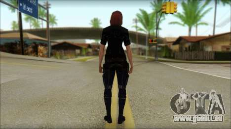 Mass Effect Anna Skin v7 pour GTA San Andreas deuxième écran