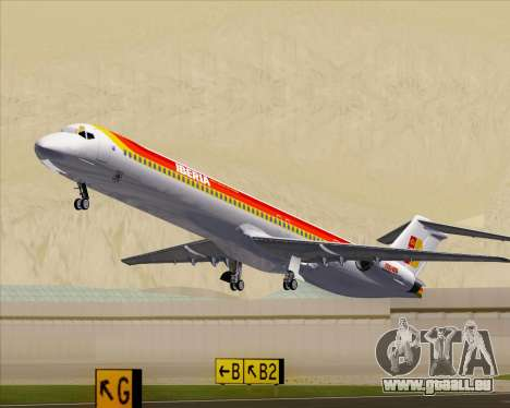 McDonnell Douglas MD-82 Iberia pour GTA San Andreas