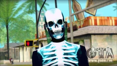 Kick Ass 2 Dave v4 pour GTA San Andreas troisième écran