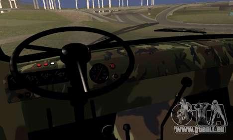 UAZ 452 für GTA San Andreas zurück linke Ansicht