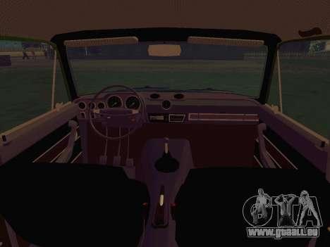 LADA 1500S 1973 für GTA San Andreas Innenansicht