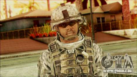 Waldläufer (CoD: MW2) v5 für GTA San Andreas dritten Screenshot