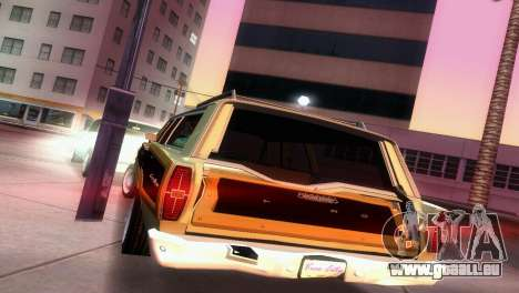 Ford Country Squire pour GTA Vice City vue latérale