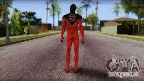 Scarlet 2012 Spider Man pour GTA San Andreas deuxième écran