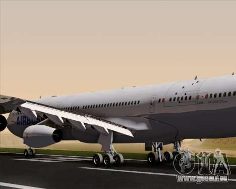 Airbus A340-311 House Colors für GTA San Andreas Motor