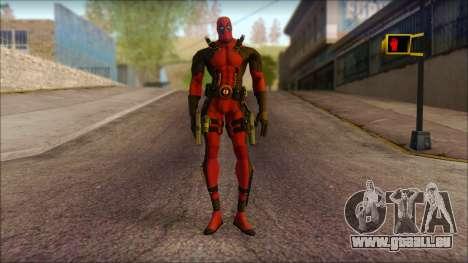 Classic Deadpool The Game Cable für GTA San Andreas