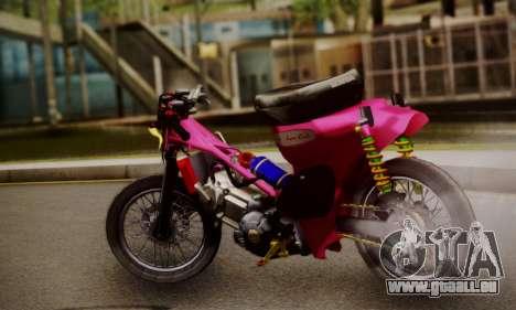 Super Cub Drag pour GTA San Andreas laissé vue