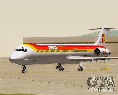 McDonnell Douglas MD-82 Iberia für GTA San Andreas linke Ansicht