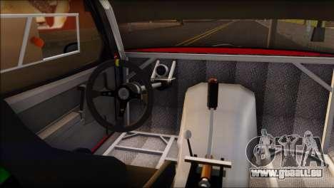 VAZ 2108 Sport pour GTA San Andreas sur la vue arrière gauche
