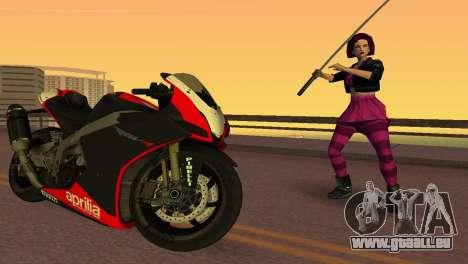 Aprilia RSV4 2009 Edition I pour GTA Vice City