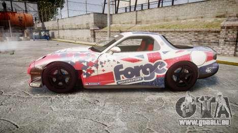 Mazda RX-7 Forge Motorsport für GTA 4 linke Ansicht