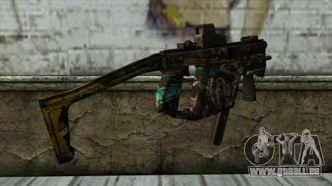Kriss Super from PointBlank v3 für GTA San Andreas zweiten Screenshot