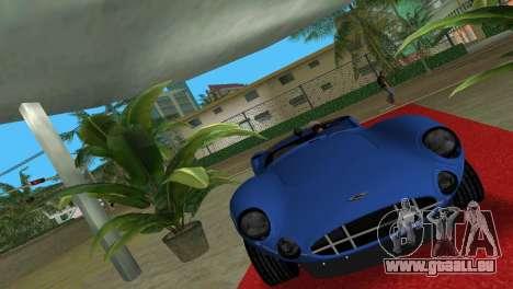 Aston Martin DBR1 pour GTA Vice City sur la vue arrière gauche
