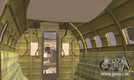 IAI 202 Arava pour GTA San Andreas sur la vue arrière gauche