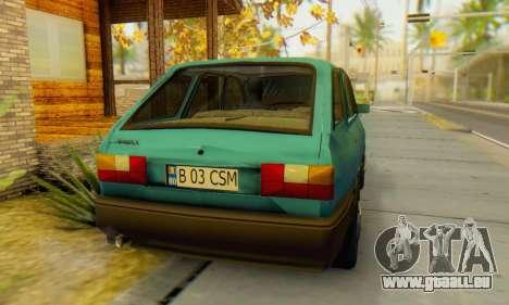 Dacia 1310 Liberta v1.1 pour GTA San Andreas sur la vue arrière gauche