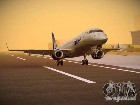 Embraer E190 TRIP Linhas Aereas Brasileira pour GTA San Andreas