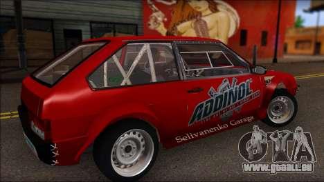 VAZ 2108 Sport pour GTA San Andreas laissé vue