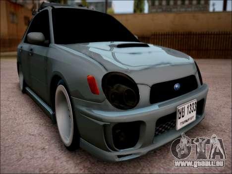Subaru Impreza Wagon 2002 pour GTA San Andreas