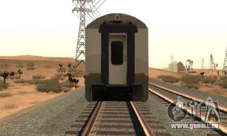 K1 Argo Traincar Indonésien pour GTA San Andreas vue de droite