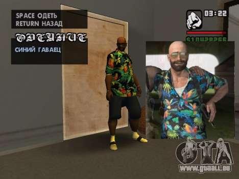 Hawaiian shirt wie max Payne für GTA San Andreas