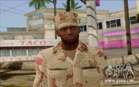California National Guard Skin 2 für GTA San Andreas dritten Screenshot