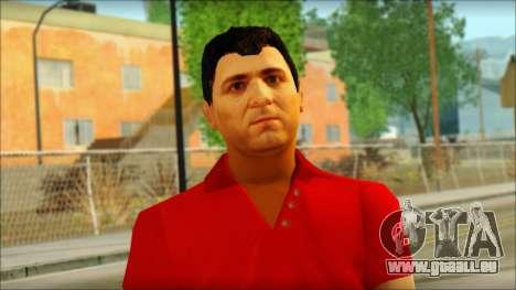 Michael from GTA 5v3 pour GTA San Andreas troisième écran