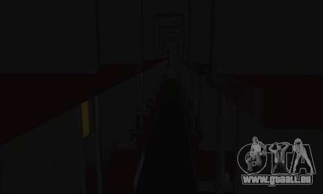 Garib Rath Express pour GTA San Andreas vue de côté